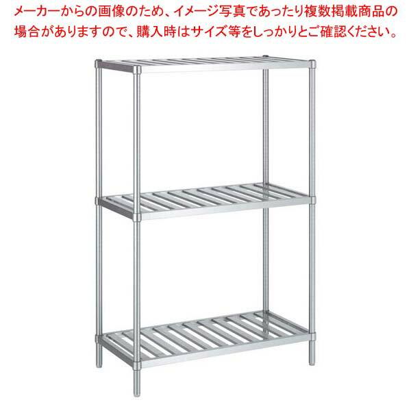 【 業務用 】パンラック RS3型(スノコ棚3段仕様)RS3-12090【 メーカー直送/代金引換決済不可 】