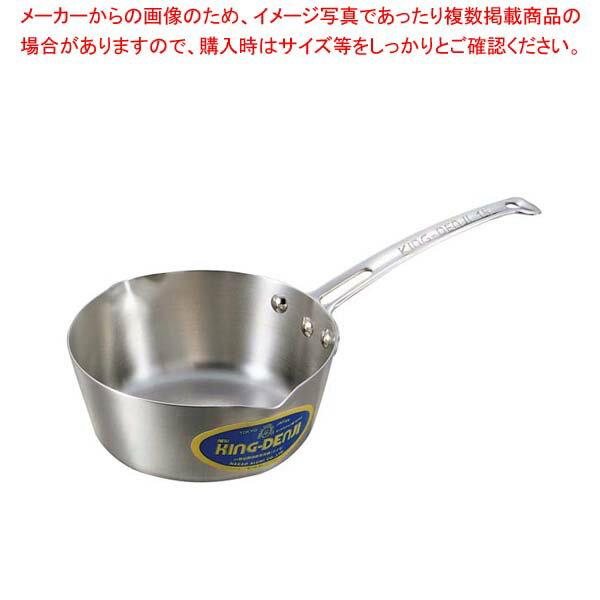 【 業務用 】ニューキングデンジ 雪平鍋(目盛付)24cm【 業務用鍋  おすすめ雪平なべ ゆきひら鍋】