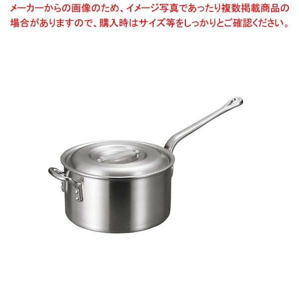 【 業務用 】アルミ バリックス 片手鍋(磨き仕上げ)27cm