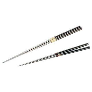 【 業務用 】黒檀柄盛箸[水牛桂] 24cm