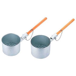 【 業務用 】鋳物目皿付ジャンボ火起し 24cm