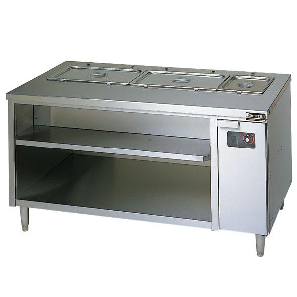 【 業務用 】マルゼン 電気式ウォーマーテーブル キャビネットタイプ MEWC-126