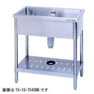 【 業務用 】タニコー tanico 一槽シンク[バックガード無し] TX-1S-945NB 【 メーカー直送/代引不可 】