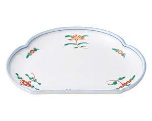 【まとめ買い10個セット品】和食器 ア428-626 松型天皿 【キャンセル/返品不可】【厨房館】