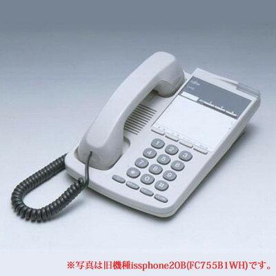 富士通 オフィス用アナログ電話機 iss phone 20BP(FC755BPWH)※iss phone 20B(FC755B1WH)の後継品