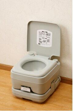 水洗式簡易ポータブルトイレ