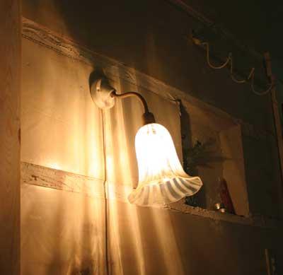 照明パーツ HS434【送料無料】【アクシス/Homestead】ホームステッド セラミックブラケット 灯具のみ E-17用■