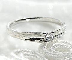 ファッション・ジュエリー・アクセサリー・レディース・指輪・リング・プラチナ・ダイヤモンド・pt900・ダイアモンド・4月・誕生石・代引手数料無料・送料無料・品質保証書・プレゼント・0.1カラット・シンプル・一粒・大粒・ウェーヴ・ウェーブ