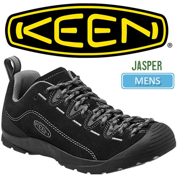超人気新作通販 ・キーン KEEN ジャスパー アウトドアスニーカー [ブラック/スティールグレー]KEEN JASPER メンズ(男性用)【靴】_11610F(trip)レビューを書いて500円クーポンGET