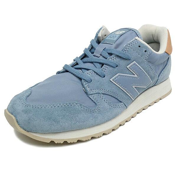 NEW BALANCE WL520 BL blue【ニューバランス WL520BL ブルー】ウィメンズ レディース NB 17FW