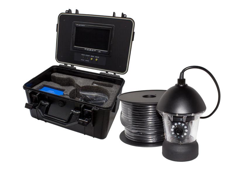 【新品・塚本無線】水中カメラ・水深50M迄・アナログ41万画素 赤外線LED・360度左右旋回機能搭載・ポータブル7インチモニター内蔵セット・最大32GBのSD対応・配管工事現場、井戸・下水道での撮影に  WTW-WPA40r-9dご注文後のキャンセルは出来ません。