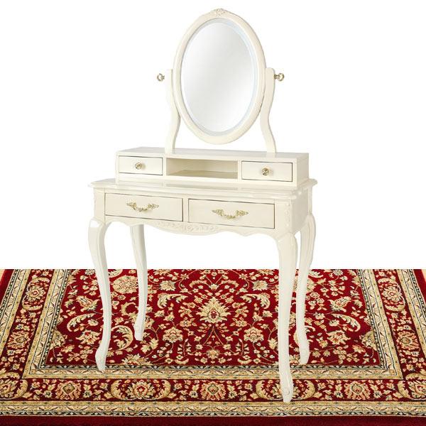 白いドレッサー SA-C-1738-Wアンティーク  白家具 白い家具 姫系 お姫様 ロマンチック【さらに表示価格より5%off】hagsac1738w