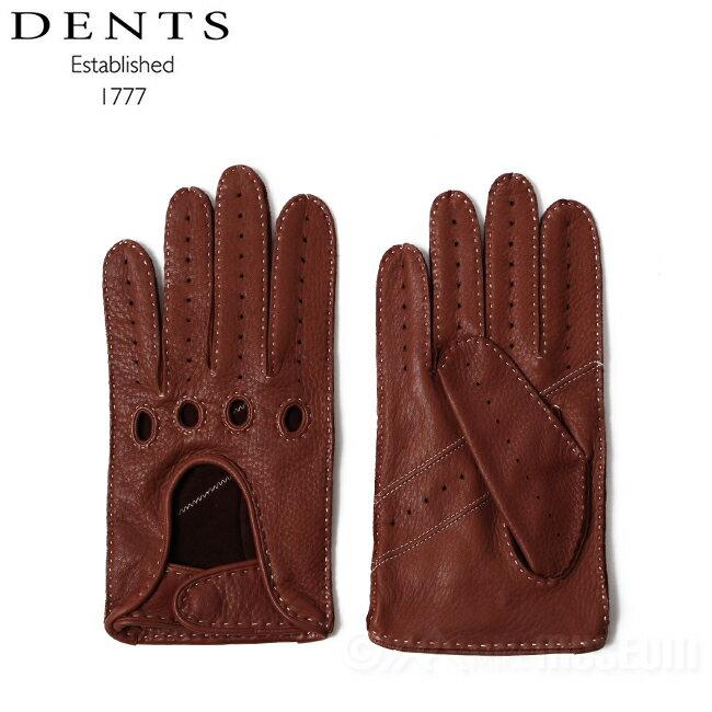 デンツ DENTS ウィンチェスター ディアスキンレザーグローブ ハバナ 5-1020 Winchester Deerskin Leather Gloves Havana 英国グローブ 手袋【送料無料】【値下げSale!!】