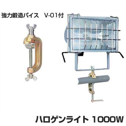 日動 ハロゲンライト HST-1000D (強力バイス付) [ハロゲンライト]