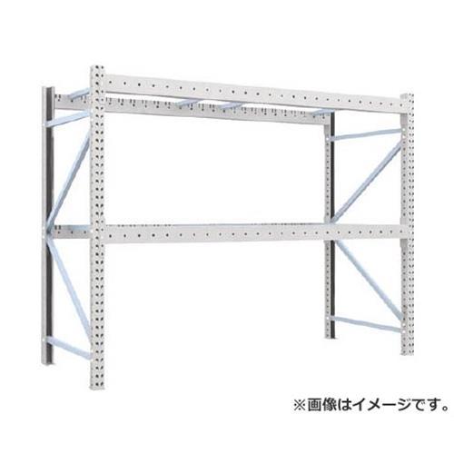 TRUSCO 重量パレット棚1トン2500×1000×H2000単体 1D20B25102 [1D-20B25-10-2][r22]