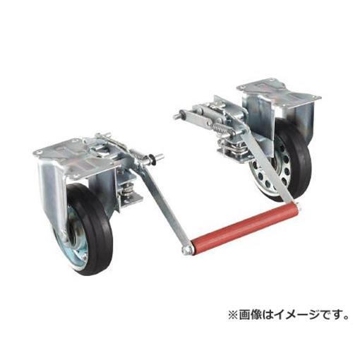 TRUSCO ドンキーカート 500番用ブレーキ空気入り固定車輪付 500NARKB [r20][s9-910]