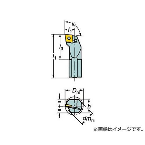 サンドビック T-Max P ネガチップ用ボーリングバイト S20SPCLNL09 [r20][s9-910]