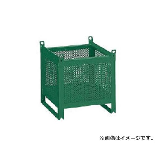 TRUSCO ミニカーゴ パンチング型 450X450XH450 VJ452 [VJ-452][r20][s9-910]