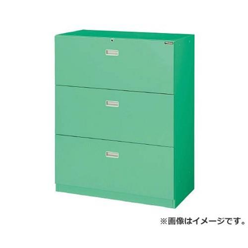 MU型保管庫 ラテラル3段 H1110 アジャスター付 MUA11B [r20][s9-910]