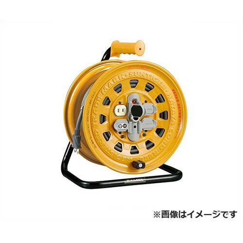 ハタヤリミテッド サンタイガーリール BG-30 [ソフトム ケーブル コードリール 100V  防塵 漏電遮断器][r20][s9-910]