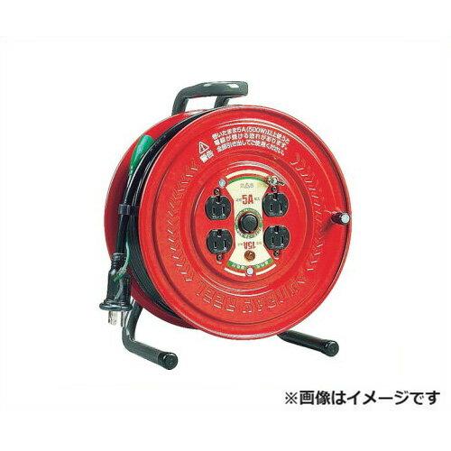 ハタヤリミテッド サンデーリール GS-301K [さんでーりーる 100V 標準 防塵 シャッター フェノール樹脂 フラットパネル フキュートビプラグ][r20][s9-900]