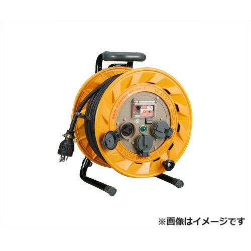 ハタヤリミテッド ブレーカーリール BR-301KL [BR型 漏電遮断器 100V ネームプレート 温度センサー 防塵キャップ 接地付][r20][s9-910]