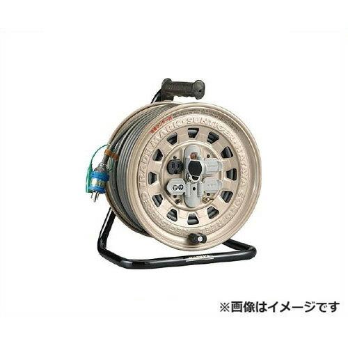 ハタヤリミテッド サンタイガーリール GT-501KX [ソフトム ケーブル コードリール 100V 標準  防塵 接地 ニュートビプラグ 温度センサー][r20][s9-910]