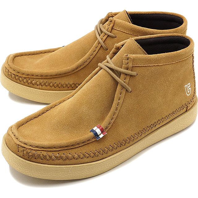 【即納】conqueror shoes コンカラー シューズ メンズ CROWN クラウン スニーカー BROWN (17FW-CW03 FW17)【コンビニ受取対応商品】