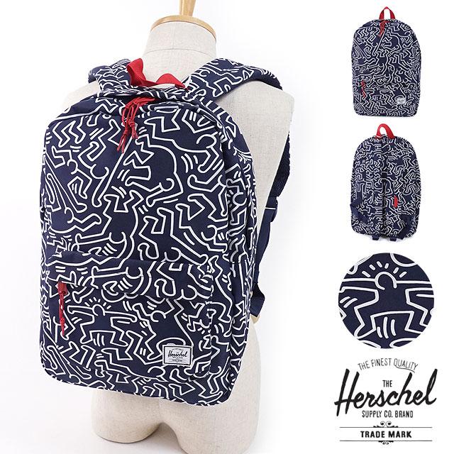 【即納】Herschel Supply × Keith Haring ハーシェルサプライ キースヘリング 22L リュック バックパック Winlaw ウィンラウ  (10230 FW17)【コンビニ受取対応商品】