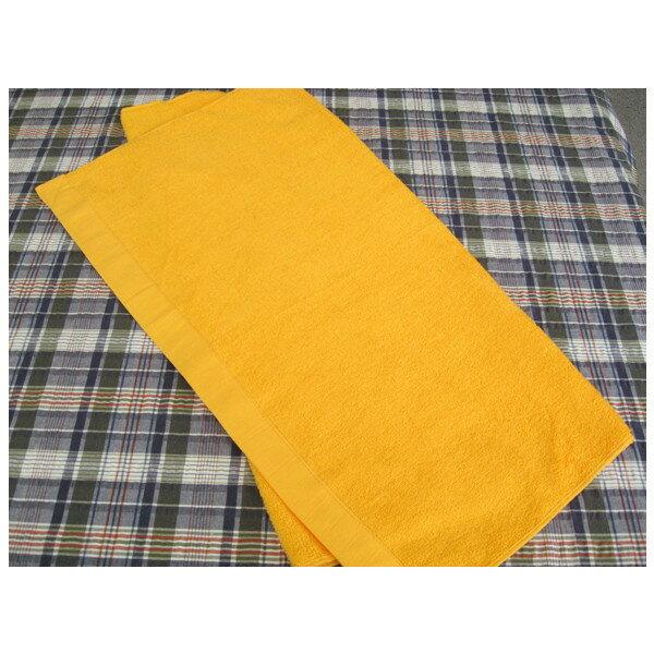 【1000匁】 反応染め ゴールド バスタオル 約68×132cm 60枚セット【業務用】