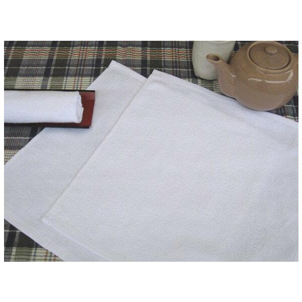 業務用定番おしぼり 90匁 白平織 1200枚セット【おしぼりタオル】