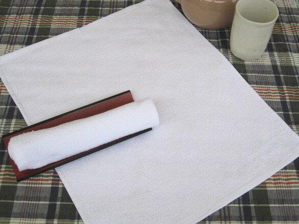 業務用定番おしぼり 120匁 白平織 30×37 1200枚セット【おしぼりタオル】
