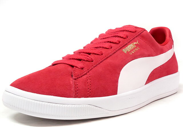 Puma [プーマ スウェードイグナイト ライフスタイルリミテッドエディション] SUEDE IGNITE LIMITED EDITION for LIFESTYLE RED/WHT (364069-03)
