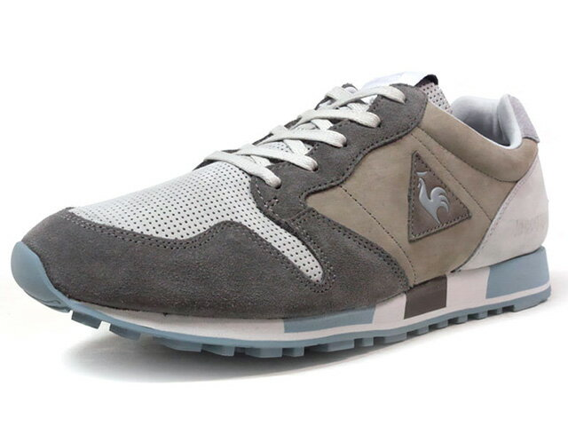 le coq sportif [ルコックスポルティフ オメガヴァレーブランシュ メイドインフランス ヴァレーブランシュパック] OMEGA VALLEE BLANCHE made in FRANCE VALLEE BLANCHE PACK LIMITED EDITION for Le CLUB L.GRY/GRY/L.BLU (1720306)