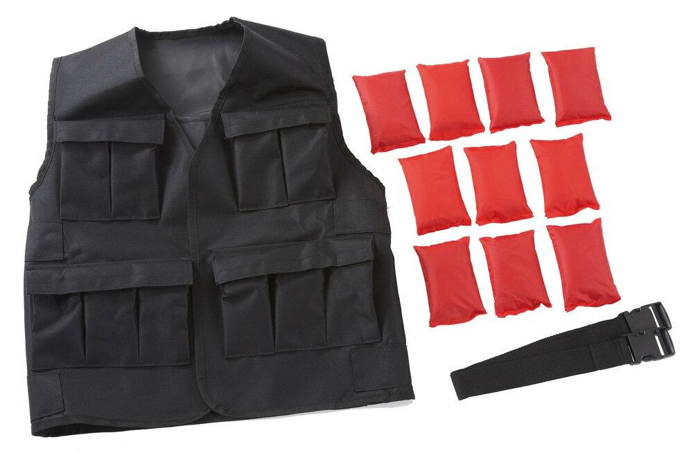 【予約受注商品】パワージャケットST(重り1kg×10個付)10kgセット 1着