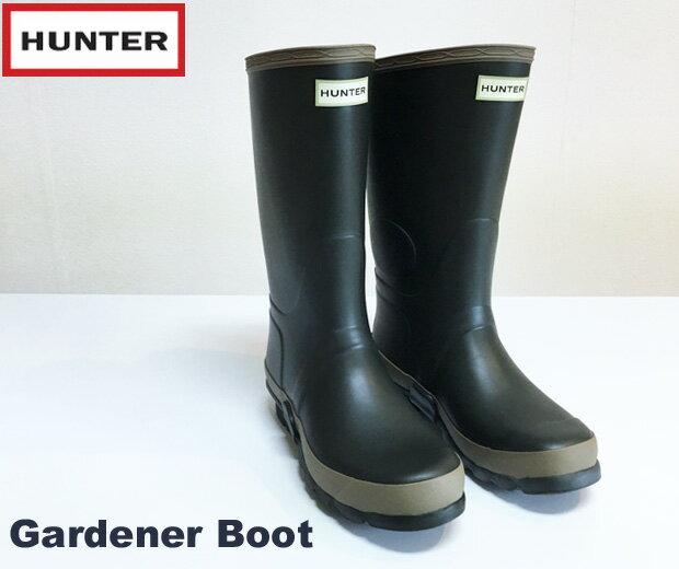 HUNTER  ハンター W FLD TALL BT RMA GARDENER ガーデナー ブーツ(レディス)