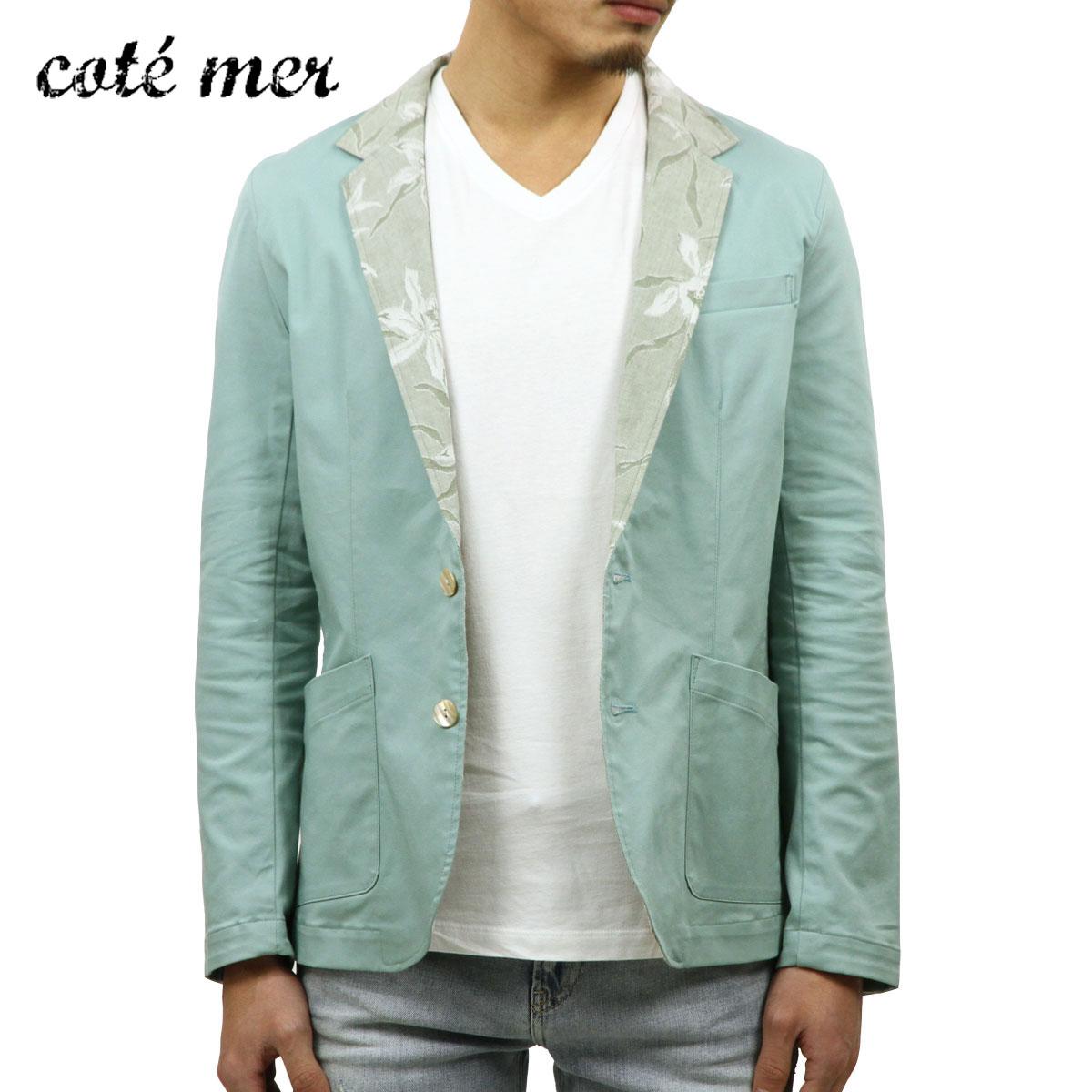 【販売期間 3/2 19:00~3/8 9:59】 コートメール Cotemer 正規販売店 メンズ テーラードジャケット tailoerd jacket JK-S13-009 GREEN