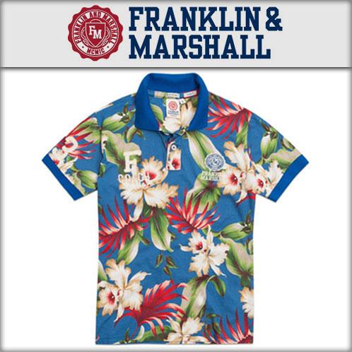 【販売期間 3/2 19:00~3/8 9:59】 フランクリン マーシャル FRANKLIN&MARSHALL 正規販売店 メンズ ポロシャツ フランクリン マーシャル POLO SHIRTS POMVA215