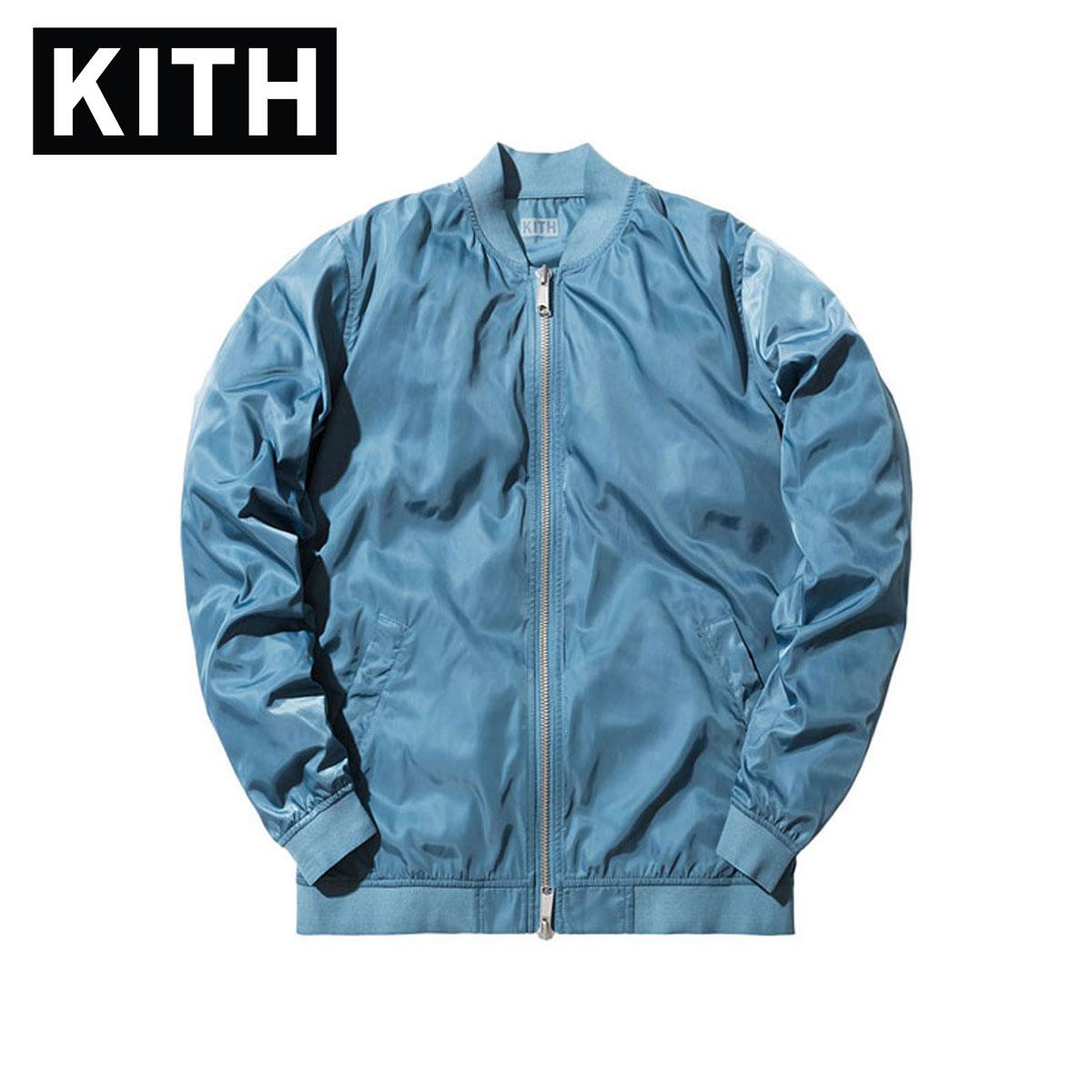 キス KITH 正規品 メンズ ジャケット Kith Astor Shell MA-1 - Slate