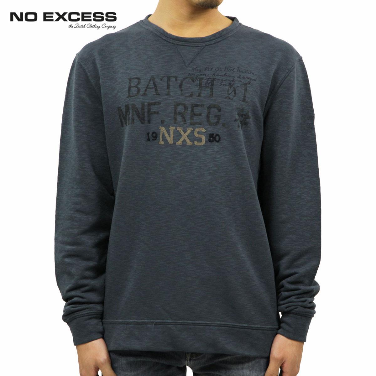 【販売期間 11/10 10:00~11/13 9:59】 ノーエクセス NO EXCESS 正規販売店 メンズ スウェット Crew Neck Fleece