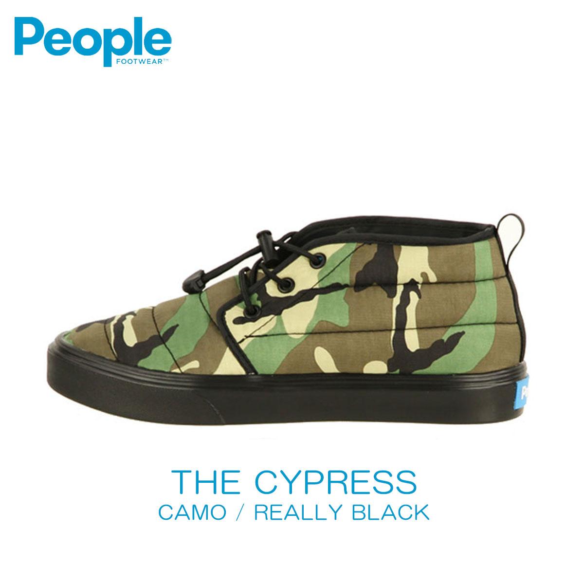 ピープルフットウェア People Footwear 正規品 メンズ 靴 シューズ THE CYPRESS NC08-012 CAMO / REALLY BLACK