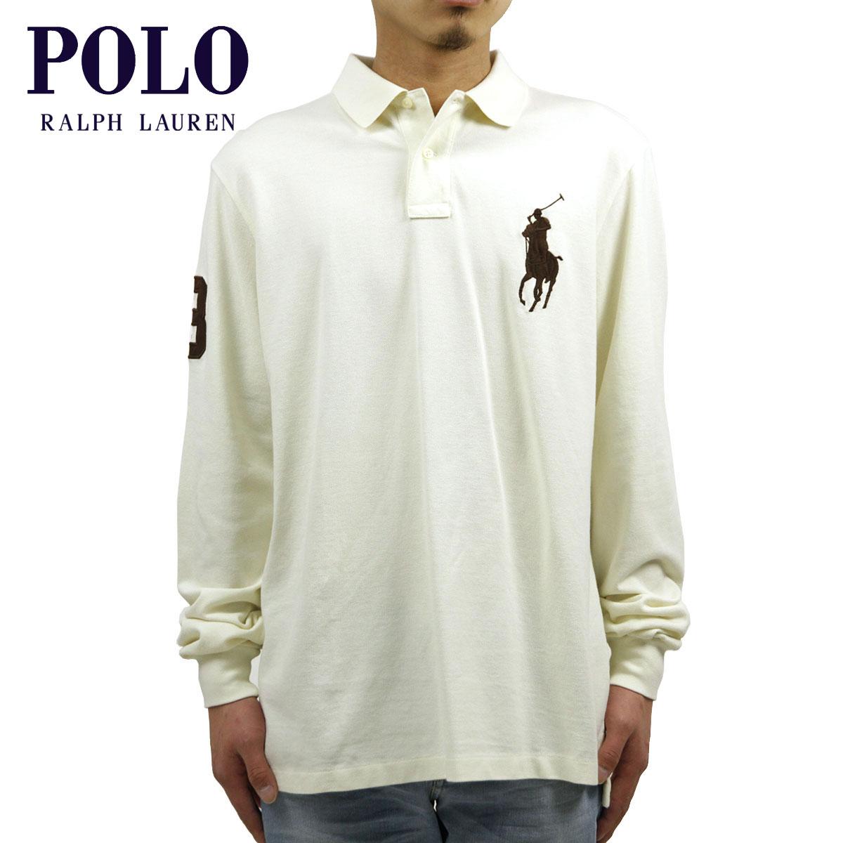 【販売期間 3/2 19:00~3/8 9:59】 ポロ ラルフローレン POLO RALPH LAUREN 正規品 メンズ ポロシャツ Slim-Fit Long-Sleeved Big Pony