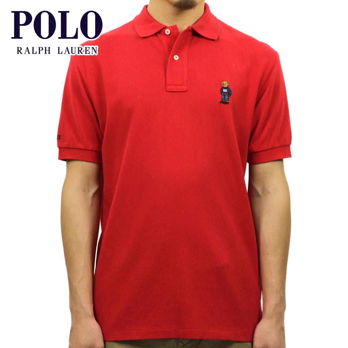 【販売期間 3/2 19:00~3/8 9:59】 ポロ ラルフローレン POLO RALPH LAUREN 正規品 メンズ ポロシャツ Classic-Fit Short-Sleeve Bear Polos