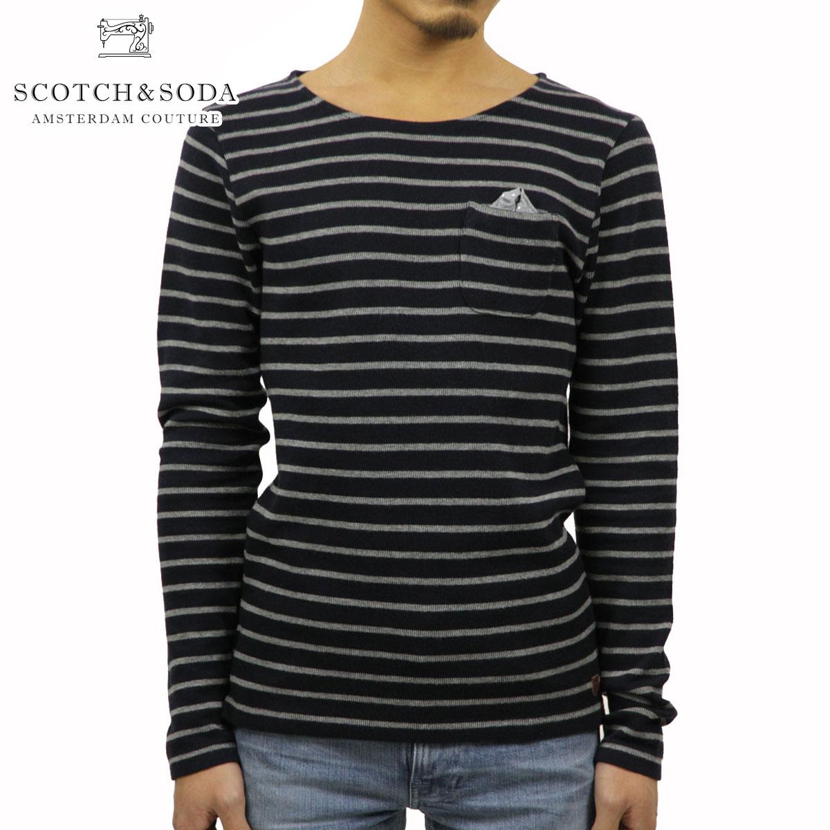 【販売期間 11/10 10:00~11/13 9:59】 スコッチアンドソーダ SCOTCH&SODA 正規販売店 メンズ 長袖Tシャツ CREWNECK SWEAT 50020 A