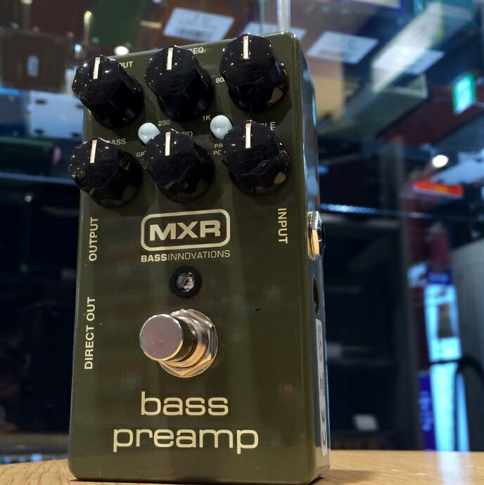 MXR/M81 Bass Preamp【在庫あり】【店頭受取対応商品】【ららぽーと店2周年感謝セール開催中!~12/24まで】