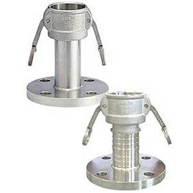 フィットトヨックス カムロックカプラー フランジ付(JIS10kg) ステンレス製 1.5インチ 633-LBS-1.5S