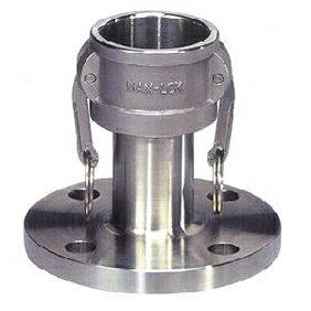 フルネスジャパン MAX-LOK フランジカプラー(JIS10kg) アルミニウム製 1インチ MAX-FC-1A