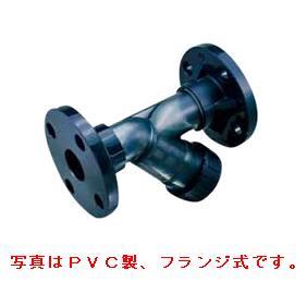エスロン ストレーナ PVC製 TS式 Oリング材質:FKM 50A UP-SSTSV50