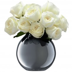 LSA POLKAVASE 〈PLATINUM〉H160mm 【花瓶】<箱入り>