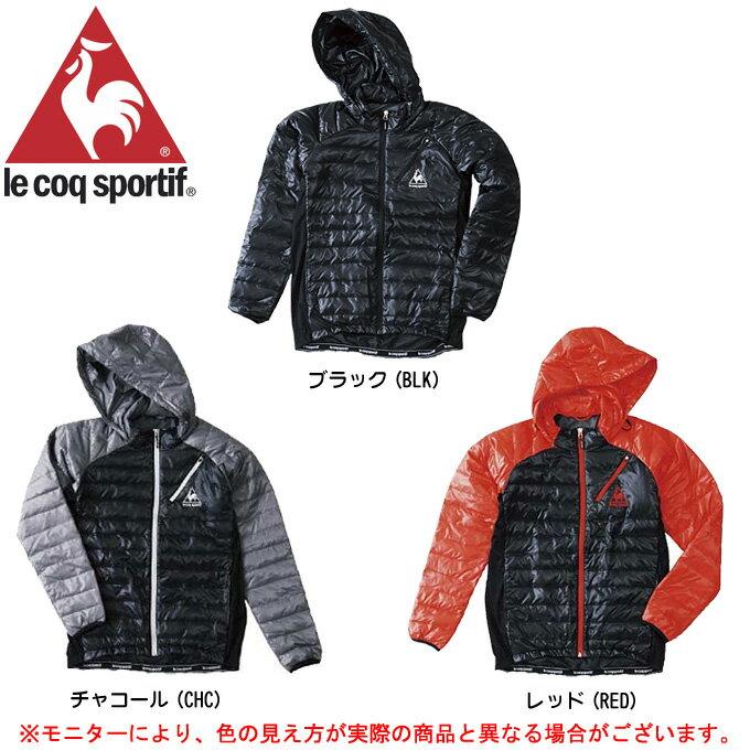 le coq(ルコック)ダウンジャケット(QB-580523)(防寒/アウター/ヒートナビ/モーション3D/蓄熱保温/撥水/男性用/メンズ)